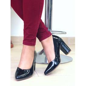Zapatos Tacon Bajo Cuadrado - Zapatos Mujer en Mercado Libre Venezuela 1d7f73cafb90