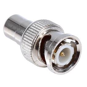 Adaptador Conector Bnc M P/ Rca F Metal