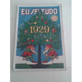 Rara Revista Eu Sei Tudo De Janeiro 1929 Frete R$ 10,00