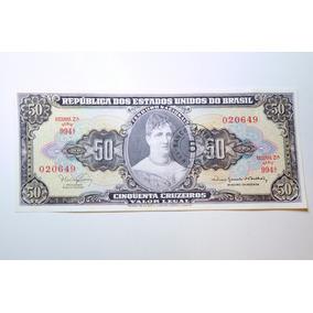 10x Notas Antiga De 50 Cruzeiros, 994, Sequenciais