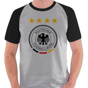 0ea02e0e97 Camiseta Seleção Alemanha Camisa Blusa Raglan Deutscher Bund