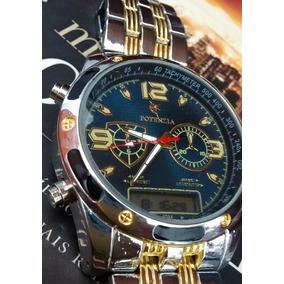 59827f76f7c Relogio Potenzia De Prata - Relógios De Pulso no Mercado Livre Brasil