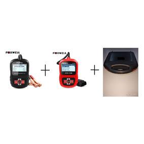Foxwell Bt100 + Nt200 Scanner Mais Testador Bateria