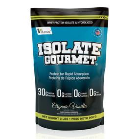 Proteína Isolate Gourmet Organic Vanilla 2lb