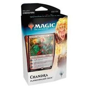 Mazo Magic The Gathering - Planeswalker Deck Chandra - Domi