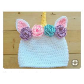 Touca De Croche Unicornios - Acessórios da Moda no Mercado Livre Brasil e0c8c873ec0
