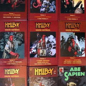 Hq Hellboy 1 Ao 7 + Tormenta E Fúria + Os Afogados