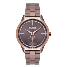 bc47277ce41 Relogio Feminino Chocolate Masculino Orient - Relógios De Pulso no ...