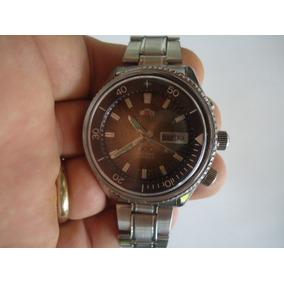 4076522da99 Relógio Orient Kd Automático Antigo Verde Musgo Degrade