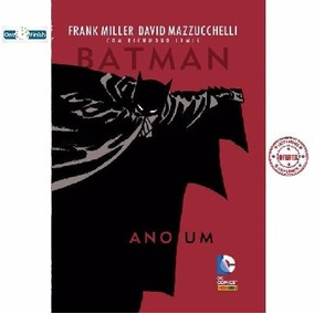 Hq Batman Ano Um - Panini Books - Novo - Lacrado