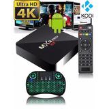 Convertidor Smart Tv Pro 4k Android 7 Netflix + Teclado Usb
