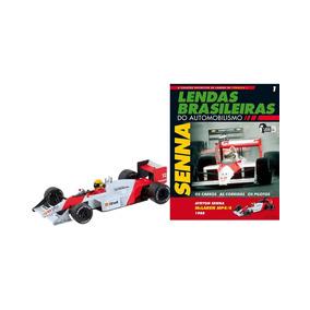 Lendas Brasileiras -ed.01--mclaren Honda Mp4/4-ayrton Senna