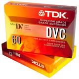 Filmadora Mini Dv------ 2 Cassette Tdk Dvc 60 X S/. 19.90