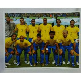 Figurinha Da Seleção Brasileira 2006