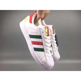 99ab519d9bb Adidas Superstar Marrom Importado Pouco Masculino - Tênis no Mercado ...