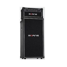 Amplificador Cabeçote Para Baixo Borne Pro200 Preto