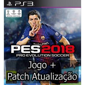 Pes 2018 Ps3 Digital Portugues + Patch Atualização 2019