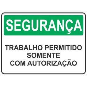 b9997fbc1bef9 Placas De Sinalização Segurança Do Trabalho - Gravuras no Mercado ...