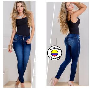 Jean Push Up Colombiano 100% Original Ref 1294