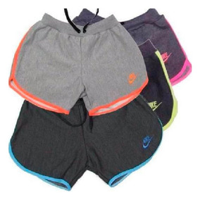 Kit 10 Short Bermuda Moletom Feminina Academia Top Atacado