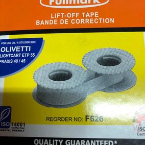 Correctora Para Maquina De Escribir Olivetti Et 50/540