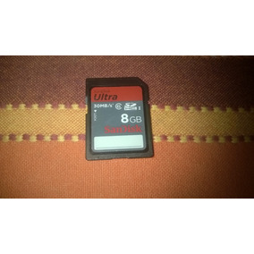 Memoria Sandisk Sd 8 Gb Clase 06 Ultra 30mbs