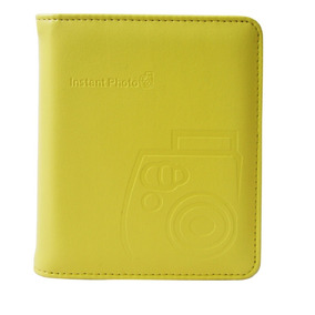 Fujifilm Album Piel 64 Fotos Amarillo - Instax - (ml)