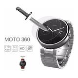 Pelicula Vidro Temp Relogio Moto 360 Segunda 2ª Geração 46mm