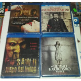 Peliculas De Terror Blu-ray. Saw , El Descenso 2, El Cuervo