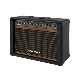 Cubo Para Guitarra Oneal Ocg 200 Cr 60w Rms Preto C/ Foot