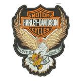 Matriz Bordado Hd010 Aguia Harley Davidson Gran