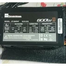 Fonte Atx 80 Plus Bronze Pfc Ativo Seventeam 800w St-800pat