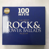 5 Cd Musica 100 Exitos Originales Rock + Baladas Sony Music