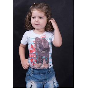 T-shirt Miss Country Infantil Boots 334 e0e748ab519