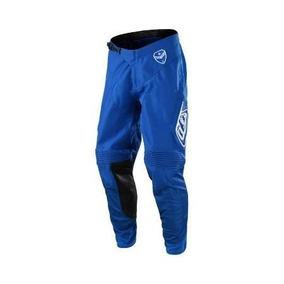 Pantalon Motocross Troy Lee Se Solo Azul