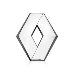 Emblema Com Suporte Da Grade Do Fluence Original Cromado