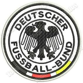 Patch Bordado Escudo Alemanha - Artigos de Armarinho no Mercado ... 4988f302b37bc