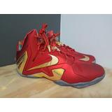 Tênis Nike Lebron 11 Elite Gold Medal - Tamanho 46 - Usado
