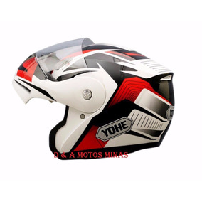 Capacete Yohe Pratik Luminix - Acessórios de Motos no Mercado Livre ... 2730b46f440