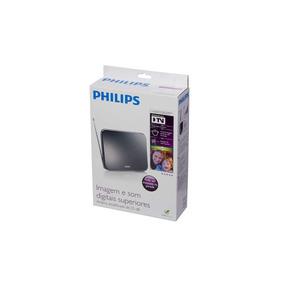 Antena Tv Digital Interna Philips Uhf / Vhf Amplificada