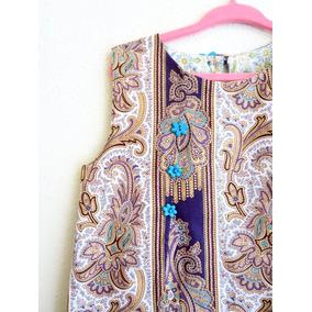 Vestido Udaipur Para Niña 4-5 Años