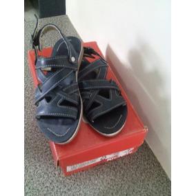 Sandalias Para Niñas Kikers #29 Como Nuevas