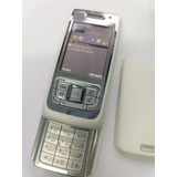 Nokia E65 Blanco Con Plateado. Libre .$1799 Con Envío.