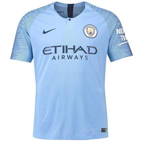 Camisa Manchester City 2018 Adulto Modelo Jogador Encomenda 7e2577cfa4a8c
