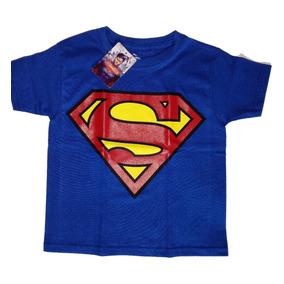 Playera Superman Niño Dc Comics Original Envío Gratis