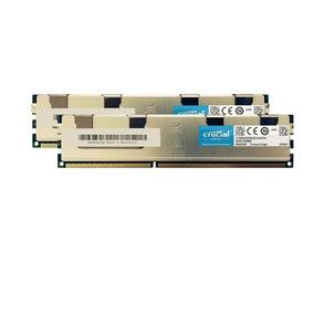 Memoria Crucial 32gb Kit (16gbx2) Ddr3 Rdimm 240 Pin