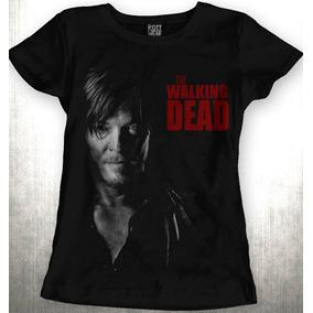 Playera The Walking Dead Daryl Dixon Dama Envío Gratis