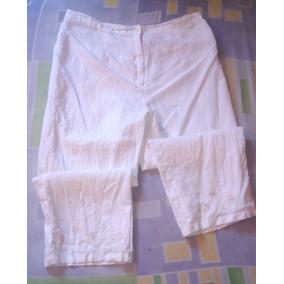 Pantalon De Lino Talla Xxl