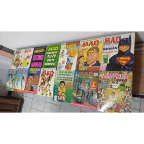 Lote De 31 Revistas Antigas Mad