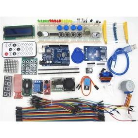 Mega Kit Placa Uno Protoboard 830 Kit Rfid Mais De 200 Pcs